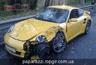 Разбит крутой Porsche Степана Черновецкого. Фото
