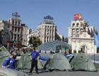 «Засланные казачки» регионалов устроили на Майдане салют Януковичу