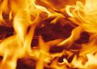 В Харькове сгорел магазин спорттоваров