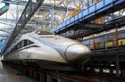 Китайский суперпоезд установил мировой рекорд скорости. Фото