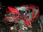 На суровой Николаевщине крошечный Chery QQ не пропустил Mitsubishi Pajero. Результат вполне предсказуемый. Фото