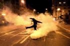 Кровь, газ, погромы. Греция охвачена уличными бунтами. Фото