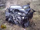 На Киевщине погибла женщина-водитель. Ее машина превратилась в ком металла. Фото