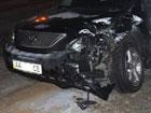 Пьяный киевлянин на крутом «Лексусе» спровоцировал серьезное ДТП в столице. Фото
