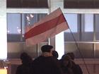 У «бацьки» серьезные проблемы. Толпа разбила стекла белорусского правительства. Фото