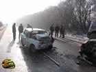 Тернопольщина. Сильнейший туман свел вместе две легковушки. В передряге погибли люди. Фото