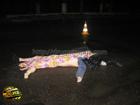 На Луганщине «Хонда» расшвыряла пешеходов  в разные стороны. 3 человека погибло. Фото