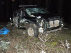 На Николаевщине Hyundai, слетев с дороги, врезался в дерево. В один миг люди смешались с железом. Фото
