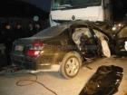 Mercedes S-класса против грузовика Renault. У «немца» не было ни единого шанса. Фото