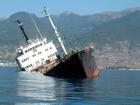 У берегов Грузии шторм расколол надвое украинский корабль