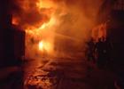 В Киеве за один раз сгорели несколько гаражей. Фото