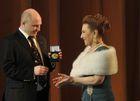 Народную артистку СССР Ламару Чкония наградили двенадцатилучевой звездой Кредо
