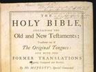 В Англии найден редчайший экземпляр Библии короля Якова. Фото
