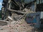 Символично. В родном городе Тимошенко рухнул дом. Фото