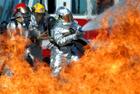 В Варшаве возле дома правительства мужчина совершил акт самосожжения
