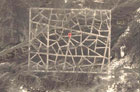 В китайской пустыне обнаружены таинственные гигантские объекты. Фото