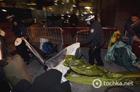 Оскал обамовской демократии. В Нью-Йорке копы разогнали палаточный лагерь «Захвати Уолл-Стрит». Фото