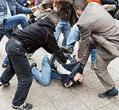 На Тернопольщине начался легкий ненавязчивый мордобой между чернобыльцами и ментами