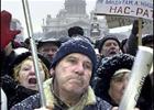 Львовские чернобыльцы хитростью проникли в Пенсионный фонд. На морозе стоять никому не охота