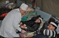 В Донецке под капельницы попали 28 чернобыльцев. Их возят в «неправильные» больницы. Фото