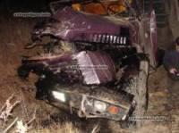 На Виннитчине локомотив буквально уничтожил КрАЗ. Водитель еще легко отделался. Фото