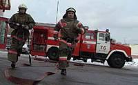 В Киеве горит роддом. Пожарные делают все возможное