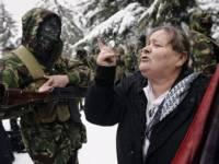 Фанаты осетинской «Тимошенко» активно трутся у здания правительства.  Готовится большой переполох?