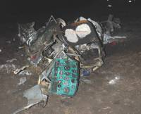 На Сумщине разбился вертолет. Выжить удалось не всем. Фото