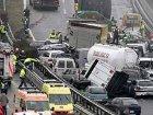 В США в одно ДТП попали сразу 170 автомобилей. Видео