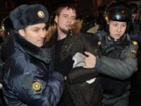 На Триумфальной площади в Москве задержаны более 100 человек. Лимонова тоже повязали