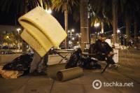 Протесты захлестнули США. В Сан-Франциско полиция арестовала 70 «захватчиков» и снесла палаточный городок. Фото