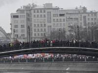 50 тысяч недовольных москвичей орут в центре города «Россия без Путина»