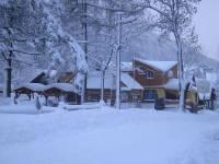 Наводнение на Закарпатье отменяется. Излишние осадки превратились в снег