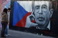 Чехия прощается с Вацлавом Гавелом. Фото