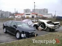Кременчуг. В столкновении «Тойоты» и «Волги» погибли работники горгаза. Фото