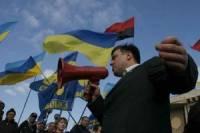Тягнибок обещает «реально провести в парламент» не меньше 50 «штыков»
