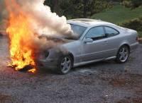 Одесским поджигателям явно не хватает экстрима. Они рискнули сжечь ментовские машины