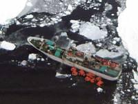 Траулер «Спарта», застрявший в Антарктиде с украинцем на борту, благополучно вывели из льдов на чистую воду