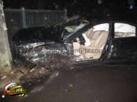 В Киеве пьяный водитель на «Пежо» протаранил сразу три автомобиля. Фото