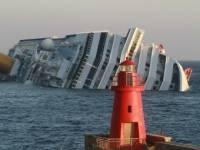 Крушение лайнера «Коста Конкордия» в Средиземном море. Видео