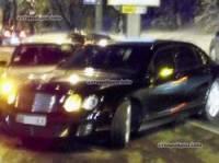 Мажорное ДТП в Киеве. Bentley и Daewoo Nexia не поделили дорогу и заблокировали проезд. Фото