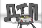 ДТП на мосту Патона: легковушка разлетелась на куски. Видео
