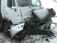 На Одесщине КамАЗ буквально уничтожил «шестерку». Погибли два человека. Фото