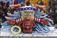 Интересно, а наша власть закрыла бы глаза, если бы такой карнавал прошел в Киеве? Фото