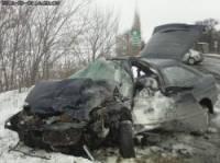 На Донбассе подросток, просидев за рулем всего три дня, угробил две машины и двух человек
