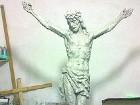 К Троице в центре Днепродзержинска появится 12-метровая скульптура Иисуса Христа
