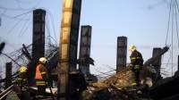 В Москве обрушилось шестиэтажное здание. Есть жертвы