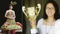 Смастерив платье из мусора, девченка умудрилась заработать почти две тысячи долларов