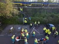 В Голландии столкнулись два поезда. Пострадали более ста человек