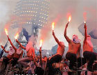 Обычные фанаты могут быть спокойны. Хулиганы на матчи Евро-2012 не попадут